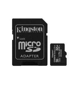 microSDHC Kingston Canvas select 32GB Class U1 UHS-I SDS+sd Adapter