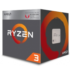Amd CPU Ryzen 3 2200G 4C/4T 3.5-3.7GHZ Cache Memory 2MB AM4