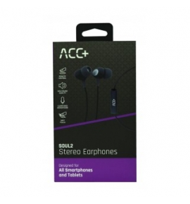 Hands Free ACC+ Soul 2 Stereo 3,5mm Blk