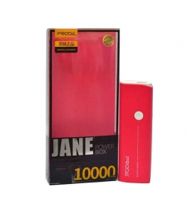 Power Bank Proda JANE power box 10000mAh Pink-Red