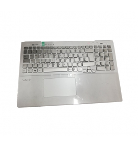 Palmrest with Keyboard and touchpad for Sony VAIO SVS15 SV-S15 SVS151C1HM White
