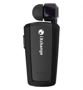 Retractable Bluetooth Mini Headset iXchange UA25 Black